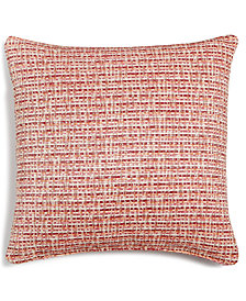 """LAST ACT! Hallmart Collectibles Coral Textured 18"""" Square Decorative Pillow"""
