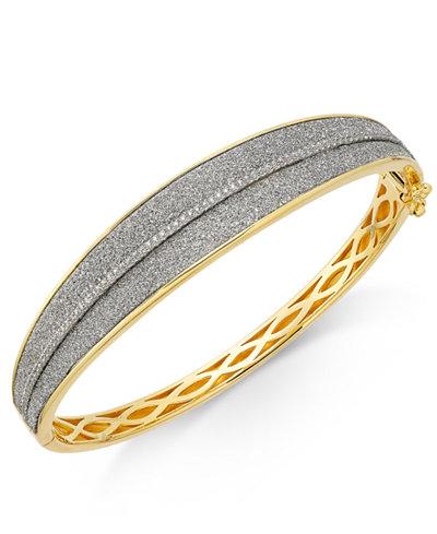 Diamond Glitter Bracelet (1/3 ct. t.w.) in 18k Gold-Plated Sterling Silver
