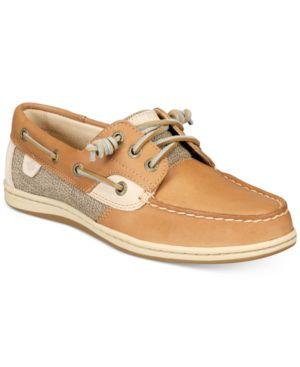 Women'S Song Fish Boat Shoes Women'S Shoes in Linen/Oat