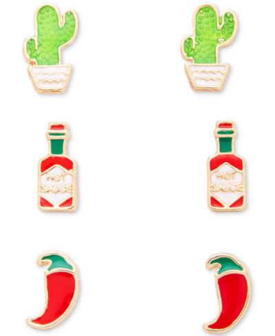 Celebrate Shop 3-Pair Earring Sets