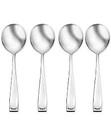 Oneida Moda 4-Pc. Soup Spoon Set