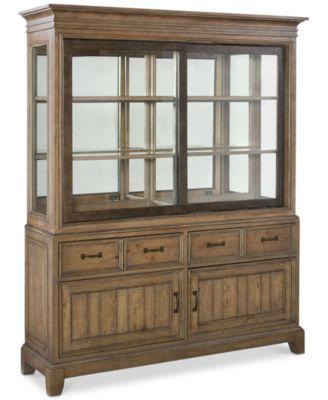 Metropolitan China Cabinet, Created for Macy's - Furniture - Macy's