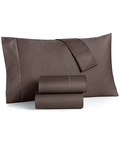 CLOSEOUT! Charter Club Damask California King 4-Pc Sheet Set, 550 Thread Count 100% Supima Cotton, Created for Macy's