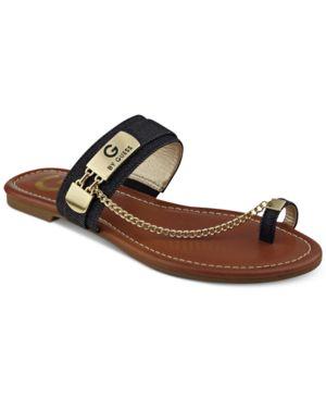 G by Guess Loren Toe Ring Sandals Women
