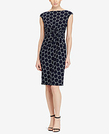 Lauren Ralph Lauren Geo-Print Jersey Dress
