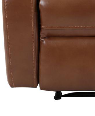 aryah leather swivel recliner