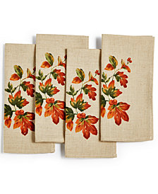 Bardwil Harvest 4-Pc. Napkin Set
