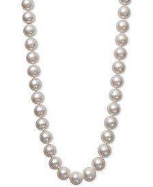Belle de Mer Cultured Freshwater Pearl (12-14mm) Graduated Strand Necklace
