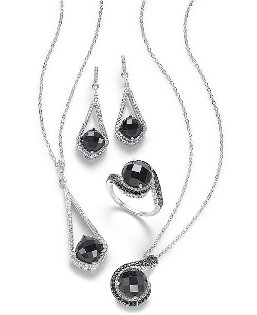 Macy's Black Onyx Jewelry Collection in Sterling Silver