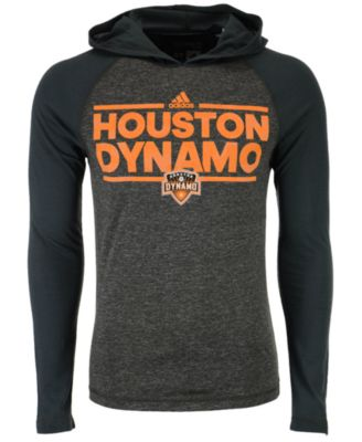 adidas Men's Houston Dynamo Dassler Tactical Hooded T-Shirt