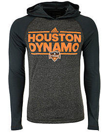 adidas Men's Houston Dynamo Dassler Tactical Hooded T-Shirt