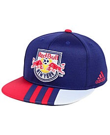 adidas Kids' New York Red Bulls Authentic Snap Cap