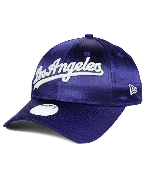 f74e97c084f ... Strapback Cap  New Era Women s Los Angeles Dodgers Satin Team Charmer  9FORTY Strapback ...