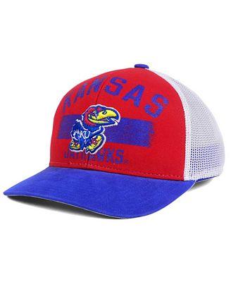 adidas Kansas Jayhawks Sunshine Trucker Cap