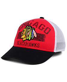 Reebok Chicago Blackhawks Truckn Adjustable Cap