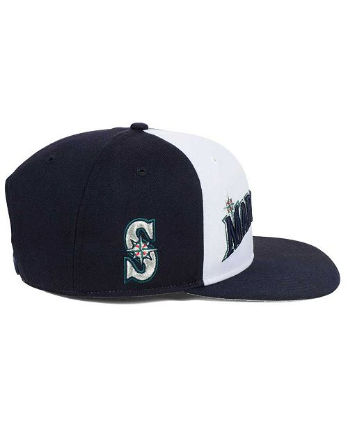 7ab231a139c60 47 Brand Seattle Mariners Script Side Snapback Cap   Reviews ...