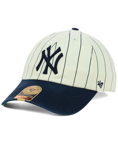 '47 Brand New York Yankees Pinstripe FRANCHISE Cap