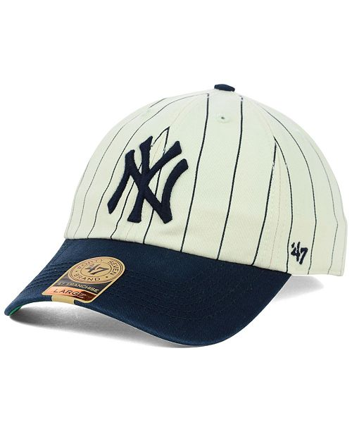 1647df5f8c896 47 Brand New York Yankees Pinstripe FRANCHISE Cap   Reviews - Sports ...