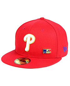 New Era Philadelphia Phillies Metal Man 59FIFTY Cap