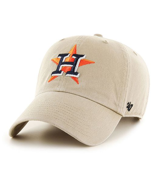 brand new 6a99e 3134b ...  47 Brand Houston Astros Khaki CLEAN UP Cap    ...