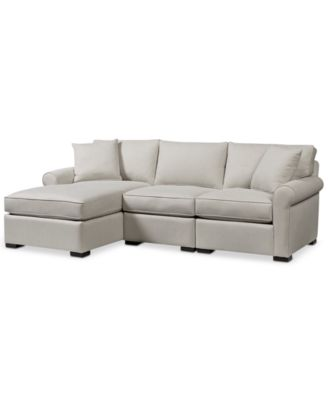 Astra 3-Pc. Sectional with Chaise Only at Macyu0027s  sc 1 st  Macyu0027s : macys radley sectional - Sectionals, Sofas & Couches