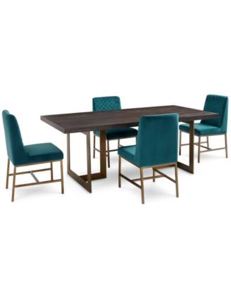 Cambridge Dining Furniture, 5-Pc. Set (Dining Table & 4 Side Chairs), Created for Macy's