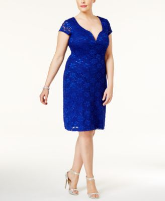 R m richards blue dress katie