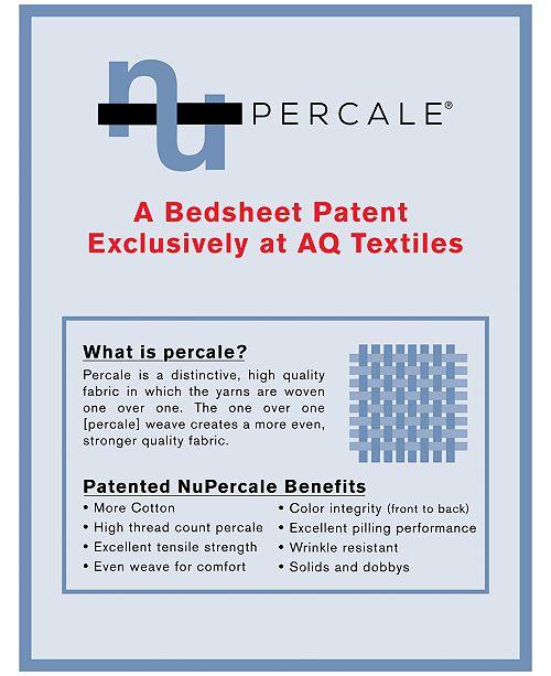 aq textiles york 4 pc sheet sets 600 thread count cotton blend