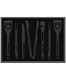 "Bungalow Flooring Water Guard BBQ Tools 2'6"" x 3' 9"" Grill Mat"