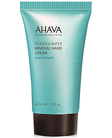 Receive a FREE Sea-Kissed Mineral Hand Cream with $35 Ahava purchase