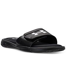 Men's Ignite V Slide Sandals from Finish Line