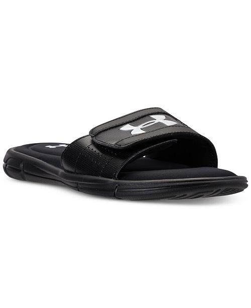 d80b3537e24 Under Armour Men s Ignite V Slide Sandals from Finish Line   Reviews ...