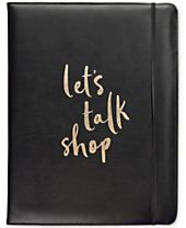 kate spade new york Talk Shop Notepad Folio