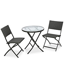 Gladin 3-Pc. Bistro Set, Quick Ship