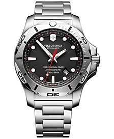 Men's I.N.O.X. Professional Diver Stainless Steel Bracelet Watch 45mm