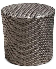 Gerren Barrel Side Table