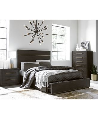 cambridge storage platform bedroom furniture collection, created