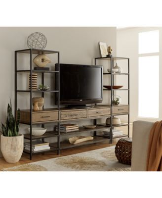 gatlin tv stand, created for macy's - furniture - macy's