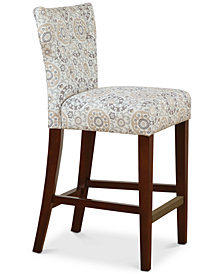 Avila Tufted Back Counter Stool, Quick Ship