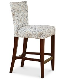 Baylor Tufted Back Counter Stool, Quick Ship