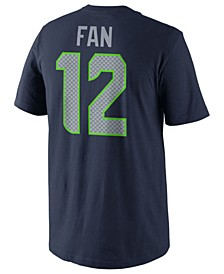 Men's Fan #12 Seattle Seahawks Pride Name and Number T-Shirt