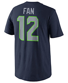 Nike Men's Fan #12 Seattle Seahawks Pride Name and Number T-Shirt