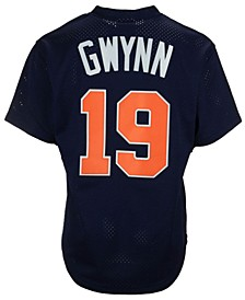 Men's Tony Gwynn San Diego Padres Authentic Mesh Batting Practice V-Neck Jersey
