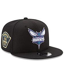 New Era Charlotte Hornets All Metallic Hoops 9FIFTY Snapback Cap