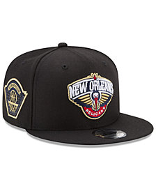 New Era New Orleans Pelicans All Metallic Hoops 9FIFTY Snapback Cap
