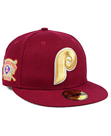 New Era Philadelphia Phillies Exclusive Gold Patch 59FIFTY Cap