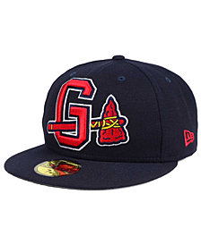 New Era Gwinnett Braves MiLB Logo Grand 59FIFTY Cap
