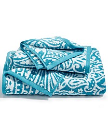 CLOSEOUT! Elite Cotton Fashion Paisley Bath Towel Collection, Created for Macy's