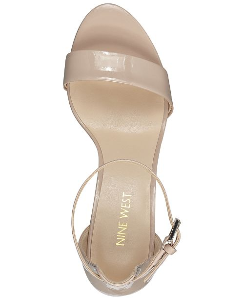 2e487344079 Nine West Pruce Block-Heel Sandals   Reviews - Sandals   Flip Flops ...