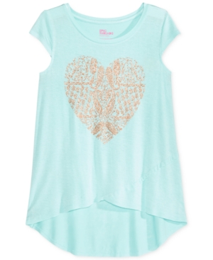 Epic Threads HeartPrint TShirt Big Girls (716) Created for Macys